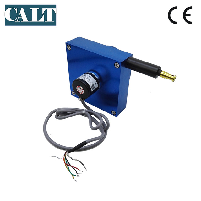 CALT 4000mm Draw wire linear sensor measuring instrument cable pot ...