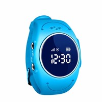 GPS Tracker Watch Phone For Boys Girls Waterproof Children Wrist Band For SOS Call Free APP