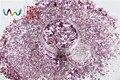 HM2104-264 Mix Pink jade Colores Hexágono formas Brillo para el arte del clavo, uñas de gel, esmalte de uñas maquillaje y la decoración de DIY