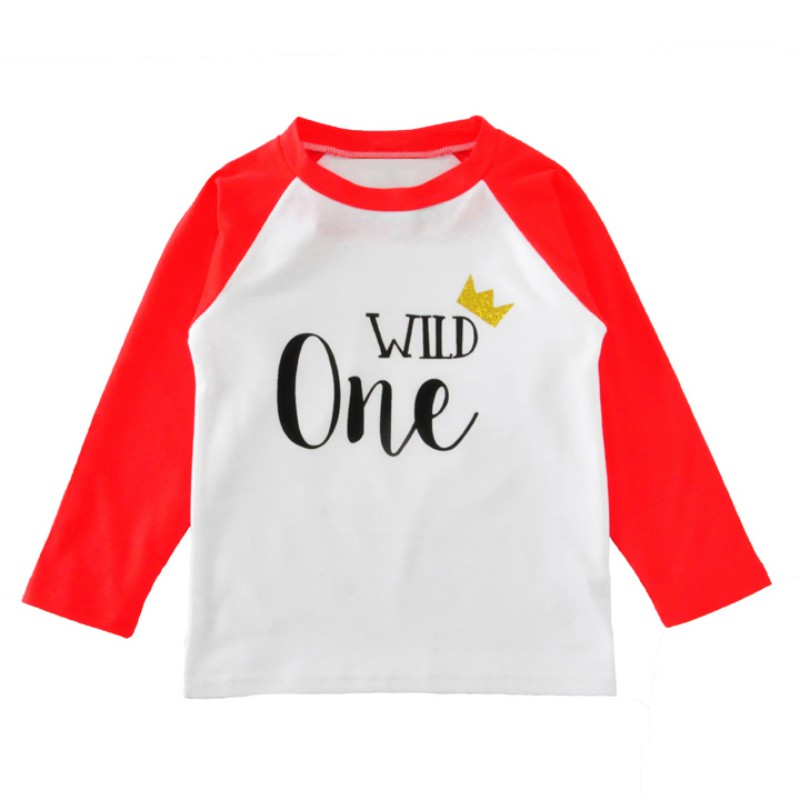 Top Horse !  Casual cotton Baby Boy Letter Print T-Shirt Toddler Long Sleeve tops Blouse  kids t shirt Boys clothing