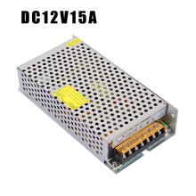 JCPOWER 15A 180W lighting Transformers 110 220 AC to DC 12V Switch Power Supply Adapter Converter