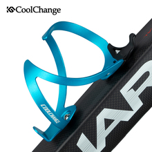 CoolChange Bicycle Bottle Holder Aluminium Alloy Ultralight Cycling Water Cage Outdoor Adjustable MTB Bike Accessories