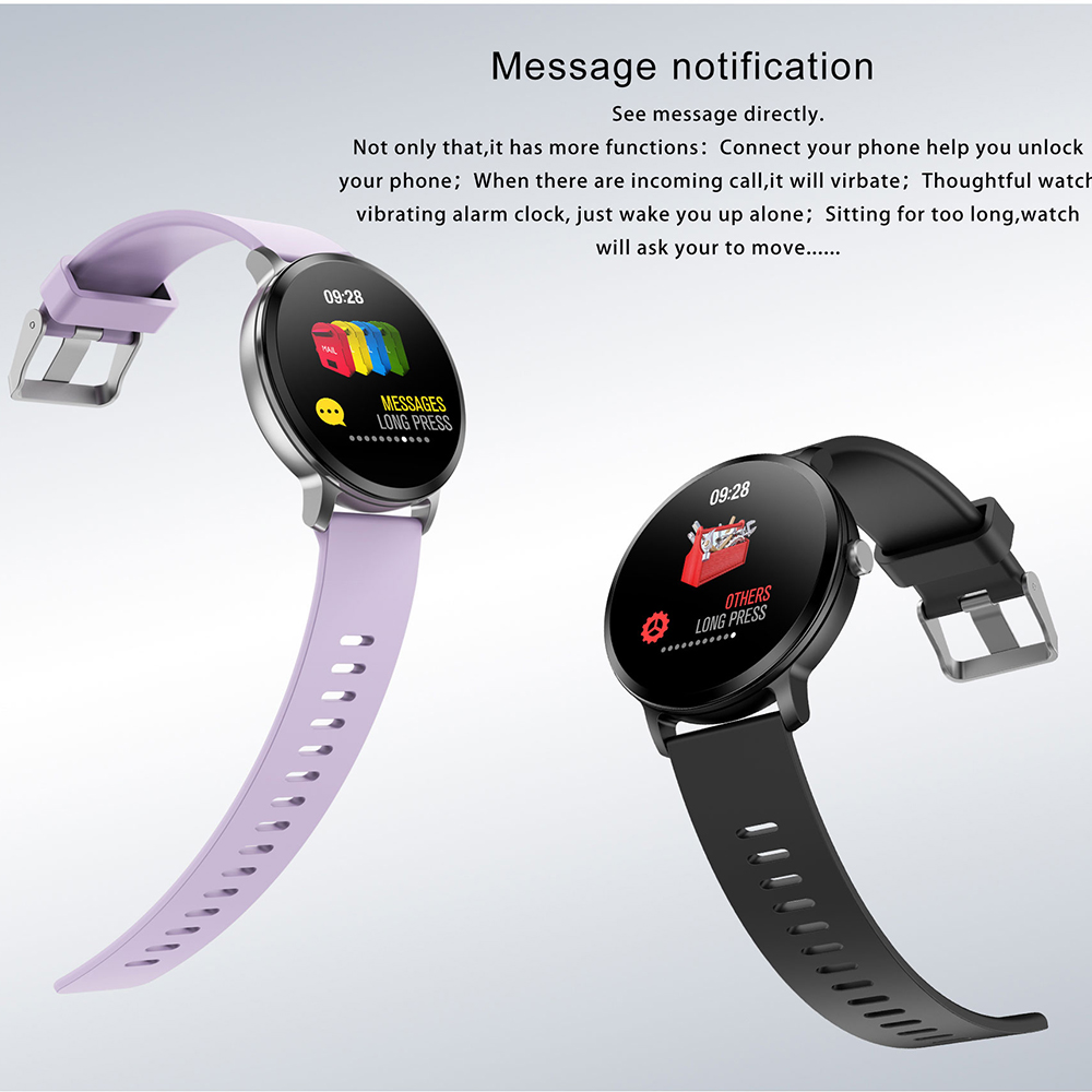 NAIKU V11 Smart Watch IP67 Waterproof Tempered Glass Activity Fitness Tracker Heart Rate Monitor BRIM Men Women Smart Band