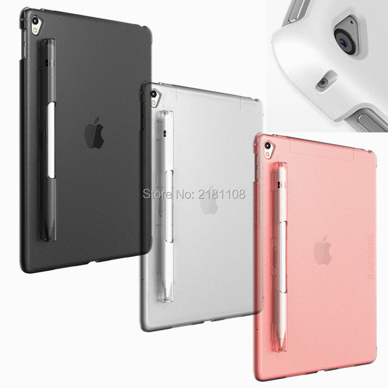 "CoverBuddy Series Pencil Holder Back Cover Case for iPad Pro 9.7"" /12.9"" for Apple ipad Pro 10.5"" iPad 9.7"" Release 2017/2018"