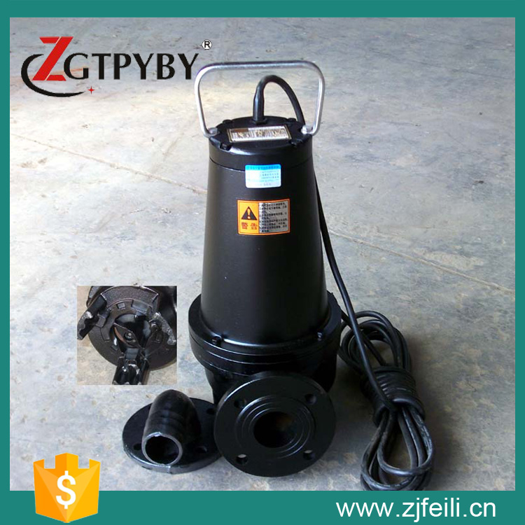 1.1kw sewage pump cutting submersible submersible sewage cutter pump with cutter submersible pump sewage pump sewage pump cutting submersible sewage pumps