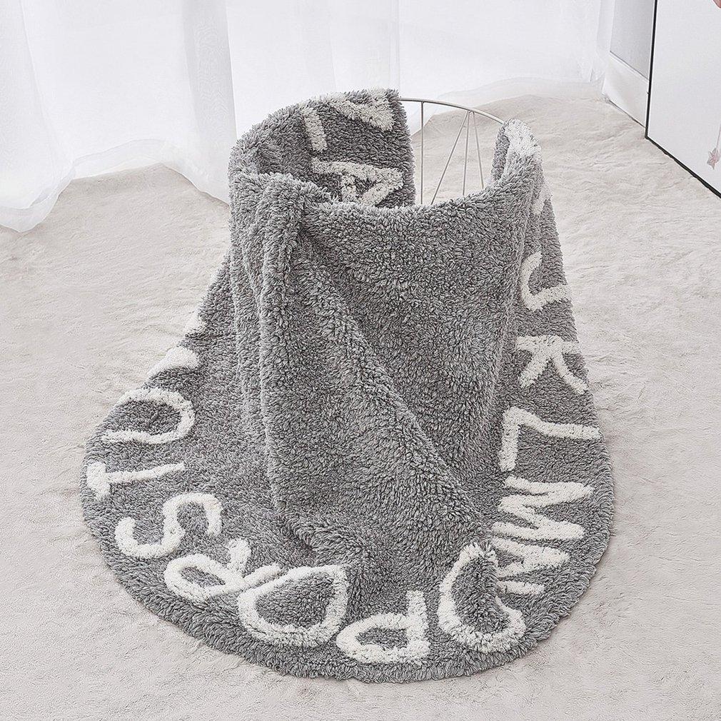 Tapis de jeu pour bébé en mousse de Polyester souple de Style nordique 26 lettres - 3