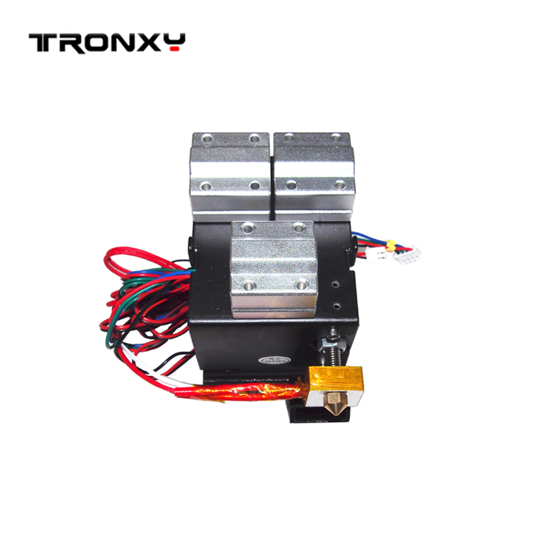 For DIY kit P802M 3D printer complete Direct Extruder Prusa i3 with 42 stepper motor heating tube thermistor bearing