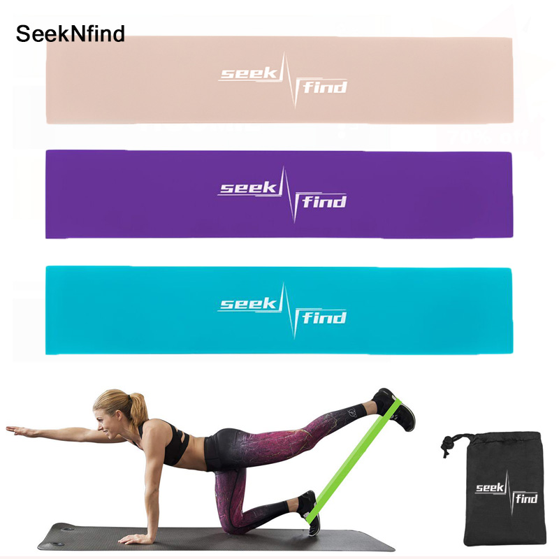 TPR Weerstand Bands Rubber Band Workout Fitness Gym Apparatuur Rubber Lussen Yoga Gym Krachttraining Athletic Elastische Bands