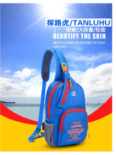 NEW TANLUHU Ultralight Chest Bag Waterproof Nylon 22*7*34cm Outdoor Sports Hiking Running Gym Bag Shoulder Bag 826