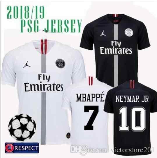 2018 19 psG SOCCER JERSEYS MBAPPE PARIS DI MARIA VERRATTI MATUIDI CAVANI  ZLATAN 19 psg 81eb01517