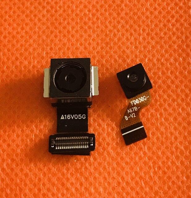 Foto original voltar câmera principal 16.0mp + 13.0mp módulo para doogee bl12000 mtk6750t octa core 6.0 fffhd + 18:9 frete grátis