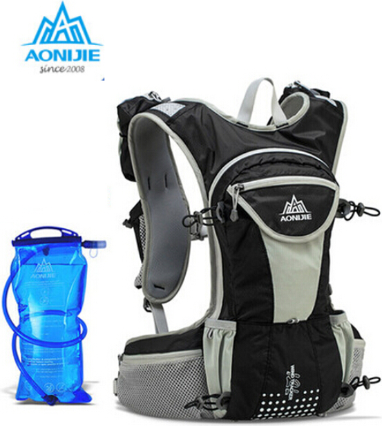 Aonijie 12l Cycling Backpack Running Bag Ultralight Outdoor Sports Hiking Travel Hydration Bicycle Backpacks With Water In Bags From
