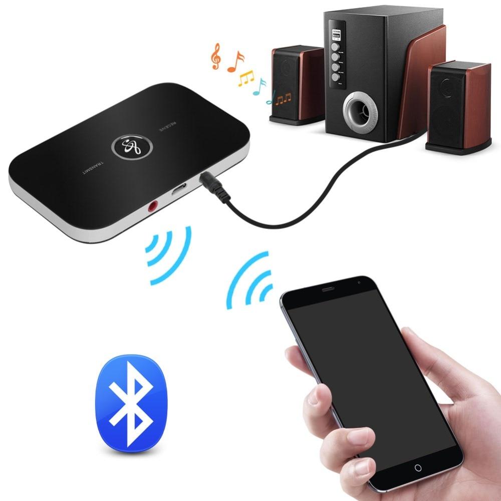 Mpow Receptor Bluetooth【Nueva Versi/ón】 Receptor Bluetooth Jack 3.5 para Coche A2DP Streambot Manos Libres de Coche para el Sistema de Audio para iPhone,iPod,iPad,Tel/éfono Inteligente etc