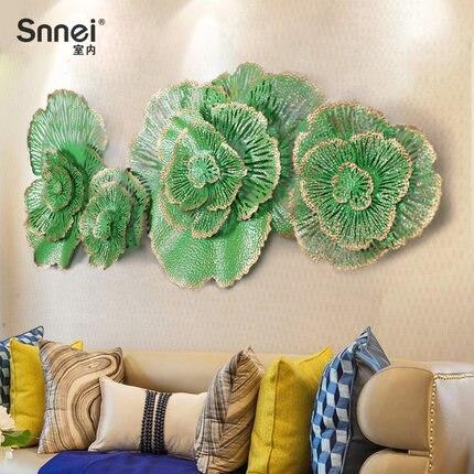 Креативный дом кованого железа гостиная украшение дивана, стен ручной росписью цвета