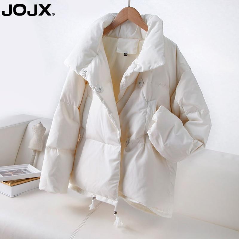 JOJX 2018 осенне зимняя женская парка модная женская куртка зимнее пальто женский стоячий пуховик теплый повседневный плюс размер пальто