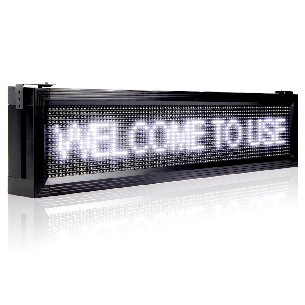 led signs programmable