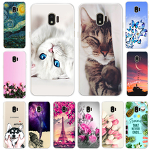 Painting Case For Samsung Galaxy J2 2018 J250 SM-J250F Soft Silicone Back Phone Case For Samsung J2 Pro 2018 J2Core J260F Cover смартфон samsung galaxy j2 2018 sm j250 16gb золотой