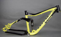 new LUTU Full Suspension Aluminium frame Alloy MTB Mountain DH AM Cycling Bicycle Frame 26/27.5er*16inch Downhill Bicycle Part