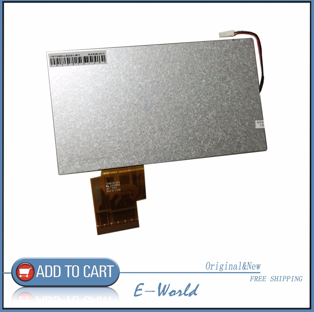 Original and New 6.2inch LCD screen CPT062-LED21-BY CPT062-LED21 CPT062 for Car DVD free shipping жесткий диск hgst travelstar z5k1 1tb 1w10028