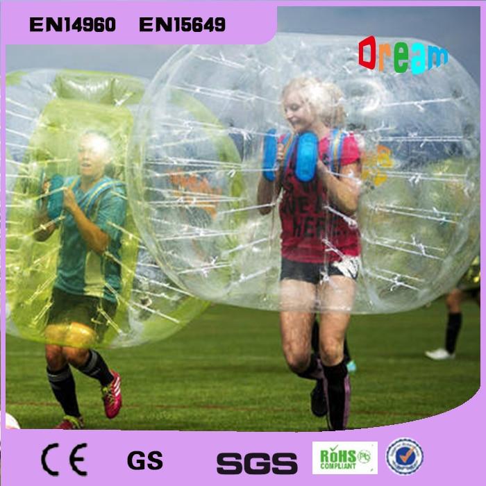 Llongau am ddim 1.5m 100% TPU Pêl-droed Swigod Pêl-droed Dawns Pêl-droed Ball Zorb Ball Theganau Hamter Pêl Bwmpiwr I Oedolion
