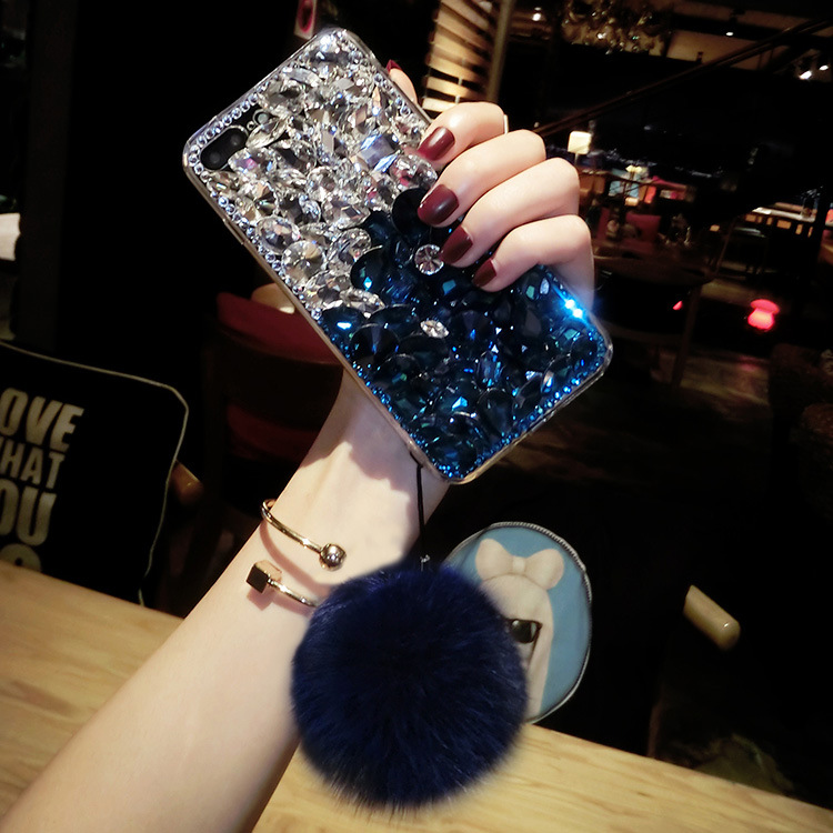 for samsung note 5 8 cover Jewelled Bling Crystal Rhinestone Diamond Soft phone cases for samsung galaxy s8 s9 s10 in Flip Cases from Cellphones Telecommunications