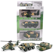 1:55 Children's Toys Pull Back Alloy Vehicle Three Military Suit Tank Armored Vehicle Medical Vehicle Helicopter Model Toy Gifts 1 55 children s toys pull back alloy vehicle three military suit tank armored vehicle medical vehicle helicopter model toy gifts