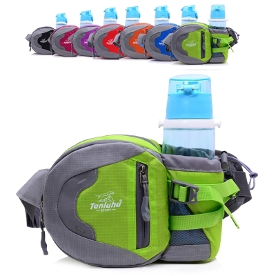 2018 New Unisex leisure riding chest pockets!All-match Light Colorful Male&Female Waist packs small mobile&change Carrier image