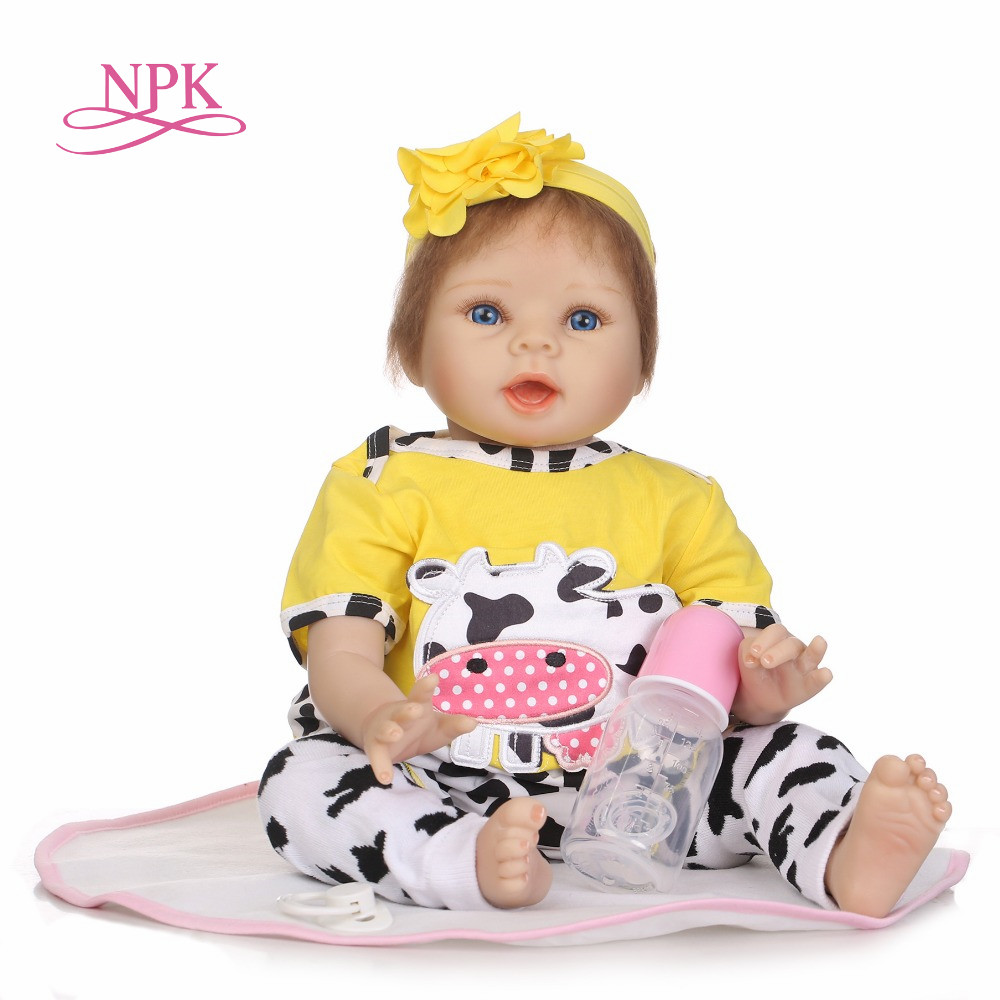 NPK free shipping hot sale lifelike reborn baby doll wholesale soft real touch babydolls fashion doll Christmas gift smileomg hot sale fashion women woven bracelet watch christmas gift free shipping sep 15