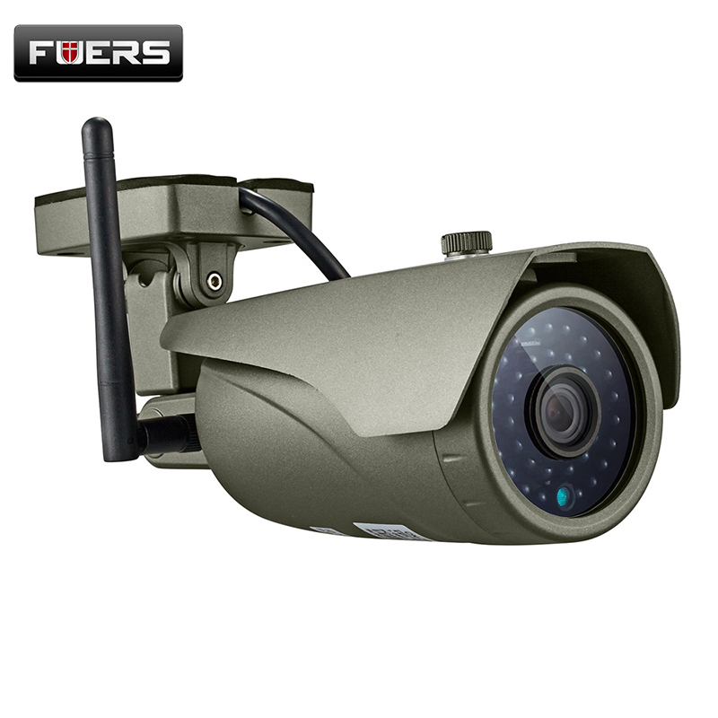 Fuers HD 1080P Waterproof Bullet IP Camera Night Vision Home Security Outdoor Usage CCTV Surveillance Wireless WiFi Camera c7815wip wifi ip outdoor waterproof camera 1 0mp megapixel hd cctv wireless bullet surveillance security sysytem home ptz camera