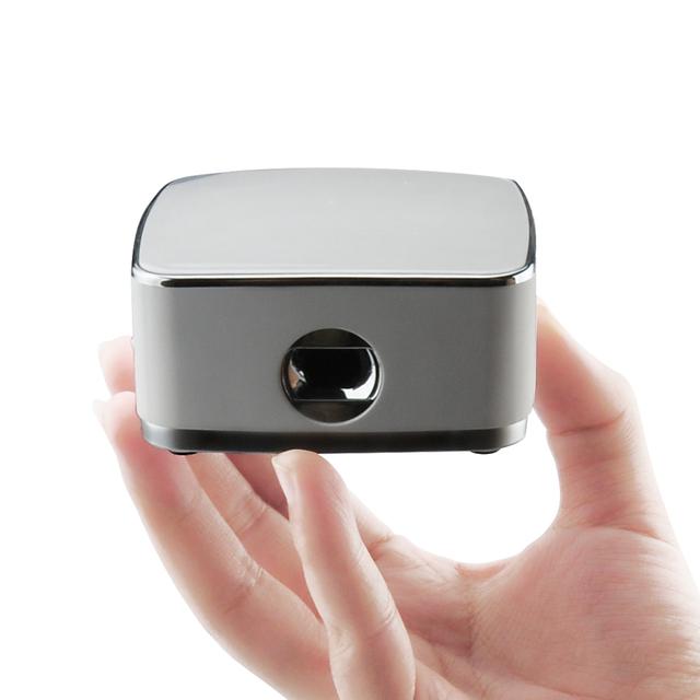 Batería incorporada Mini DLP Pico Proyector Beamer Projektor proyector Multimedia de Cine En Casa HDMI Proyector 1080 P