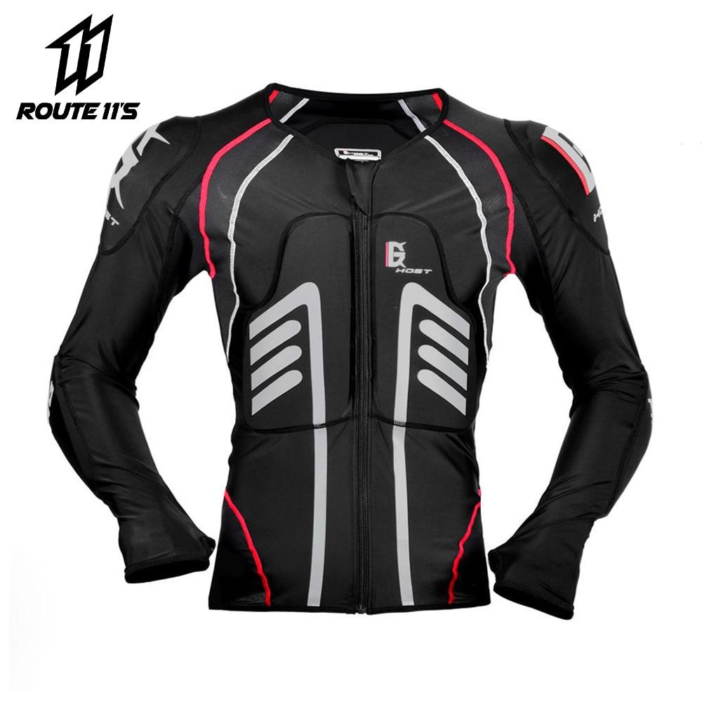 2019 veste de Moto Protection de Motocross équipement de Protection veste de Moto armure de Moto armure de course armure de Moto noire