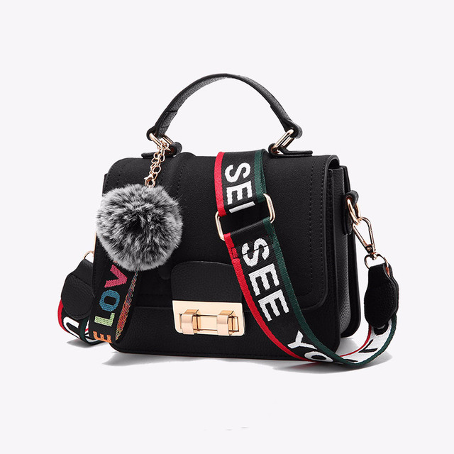 Female Messenger Bags New Fashion 2018 Inclined Shoulder Bag Women s PU  Leather Handbags Bag Ladies Hand 9a75806864290
