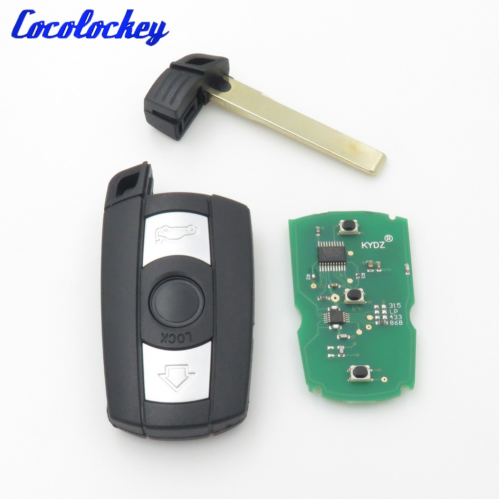 holder cover case bmw fob key leather p genuine