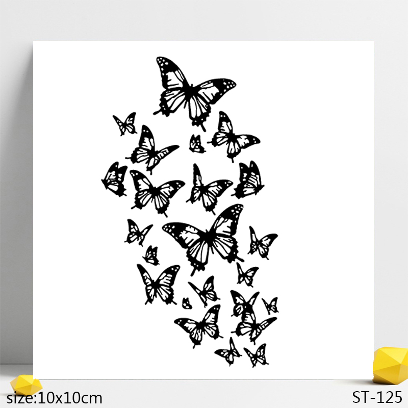 AZSG Compact Butterfly Clear Stamps Seals For DIY Scrapbooking Card Making Album Decorative Silicone Stamp Crafts in Stamps from Home Garden
