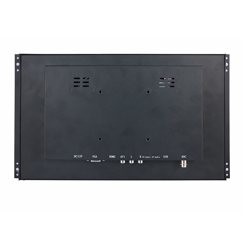 15.6 high resolution 1920*1080 10 points touch capacitive touch monitor VGA HDMI USB open frame touch monitor screen-in LCD Monitors from Computer & Office    3