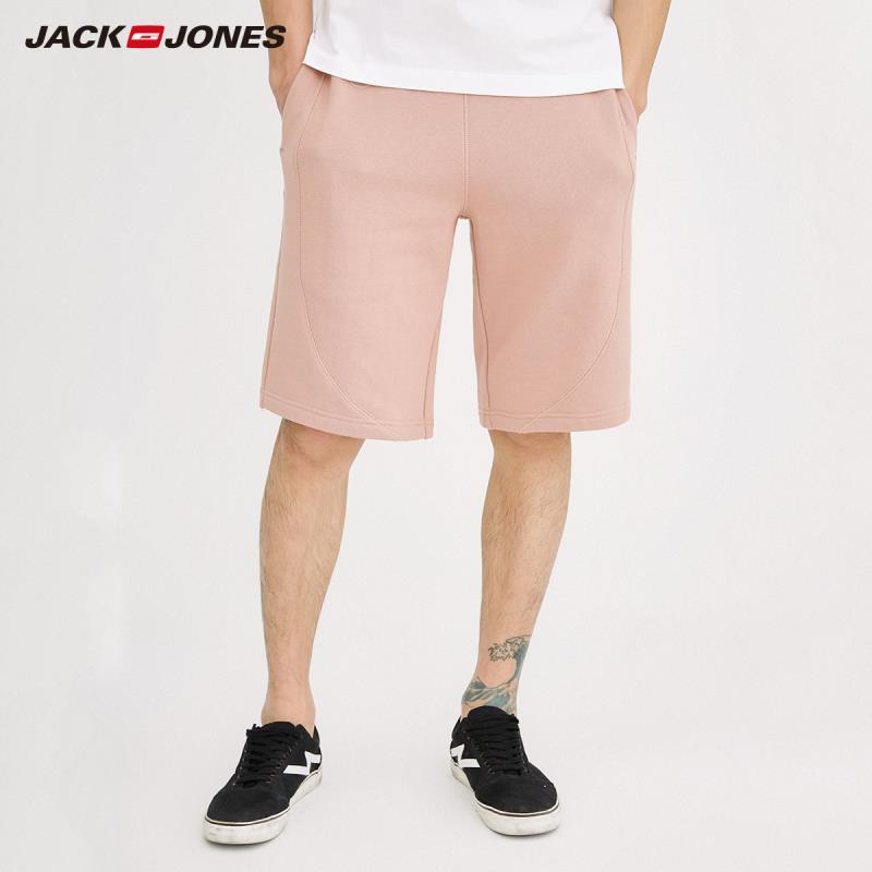 JackJones Men's Loose Fit Pure Color Casual   Shorts   218215515
