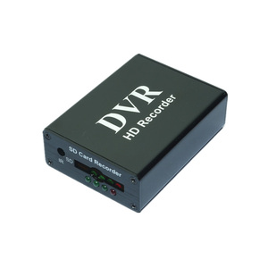 Image 2 - Новый 1CH Мини DVR CVBS запись, 1 канал CCTV монитор Поддержка нескольких режимов записи SD карта записи DVR Черный