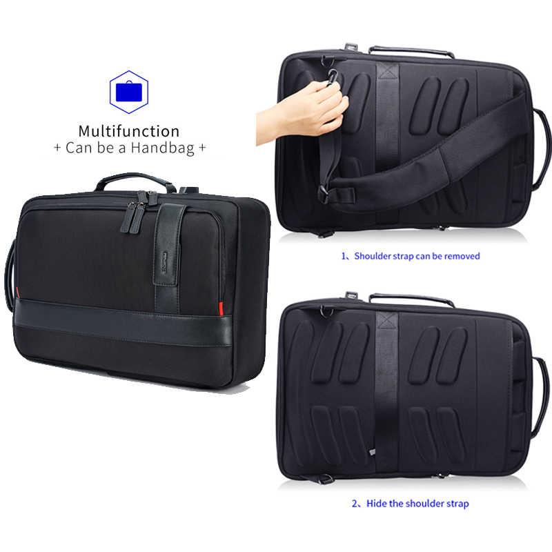 BOPAI мужской рюкзак с увеличенной USB внешней зарядкой, рюкзак для ноутбука, 15,6 дюймов, большой объем, Противоугонный рюкзак для путешествий для подростка
