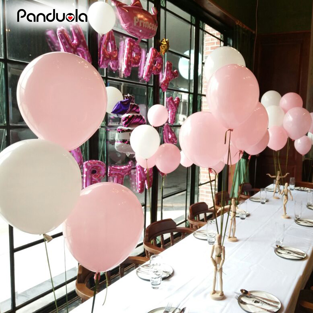 30-100 Latex LARGE Helium Air Quality Party Birthday Wedding Balloons baloons