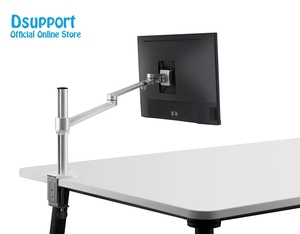 Image 3 - Height Adjustable within 32 inch LCD LED Monitor Holder Arm Bracket 360 Degree Rotatable Computer Monitor holder Stand OL 1