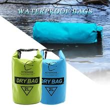 HITORHIKE 2L Waterproof Dry Bag Outdoor Swimming Camping Rafting Storage Bag 6 Colors