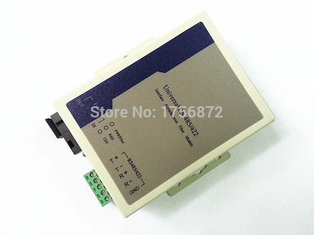 RS422 para Módem de Fibra Óptica SC Monomodo 20 km rs422 a ethernet convertidor de fibra