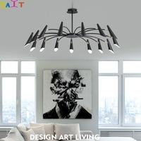 Postmodern modern chandeliers light of light chandeliers stylish tree branch leaf chandeliers ceiling