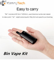 Nouvelle D'origine Kamry Bin E-Cigarette Kit Vaporisateur Stylo pour CDB THC 1.6ohm 650 mAh AUCUNE Fuite Énorme Vaporisateur Portable Électronique Narguilé stylo