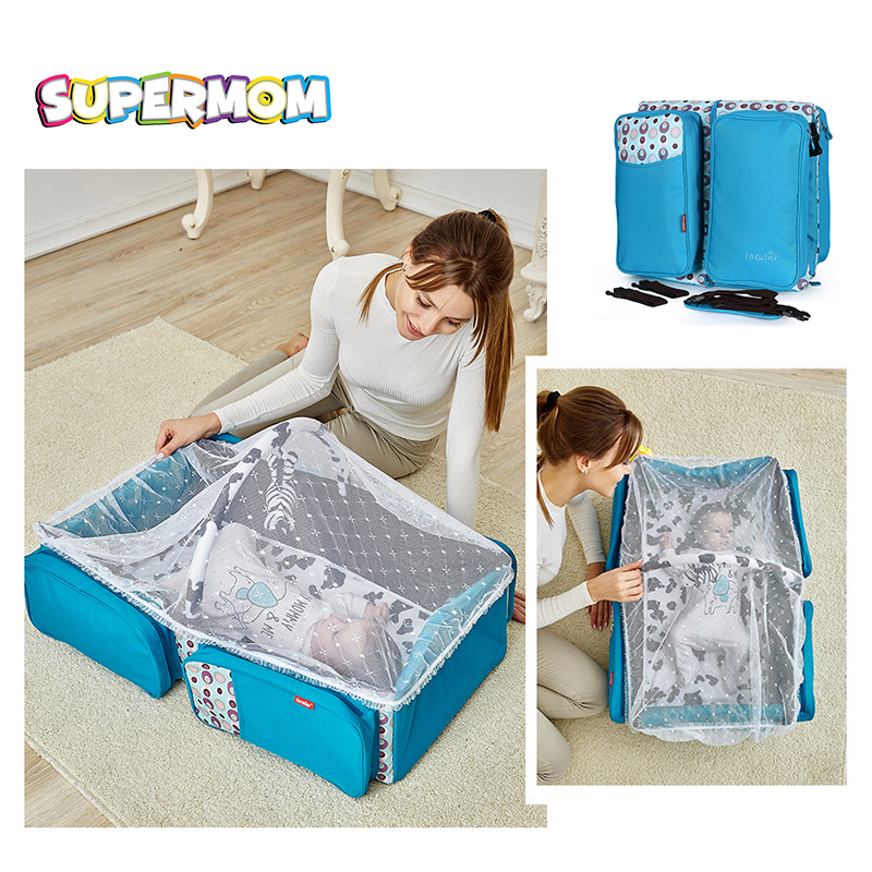 Portable Baby Crib Infant Bed Tent Sleeping Basket With Mosquito Net Folding Newborn Carrycot Baby Cradle Nest Bedding Stroller quality baby sleeping basket portable newborn cradle bed with awning mosquito net portable bassinet for newborn car seat cradle