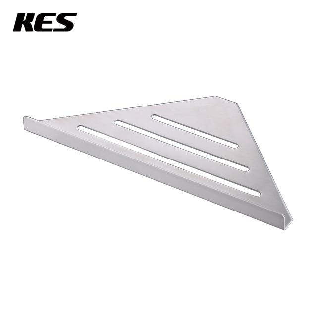 Kes Corner Shower Shelf Triangle Bathroom Shower Caddy Basket