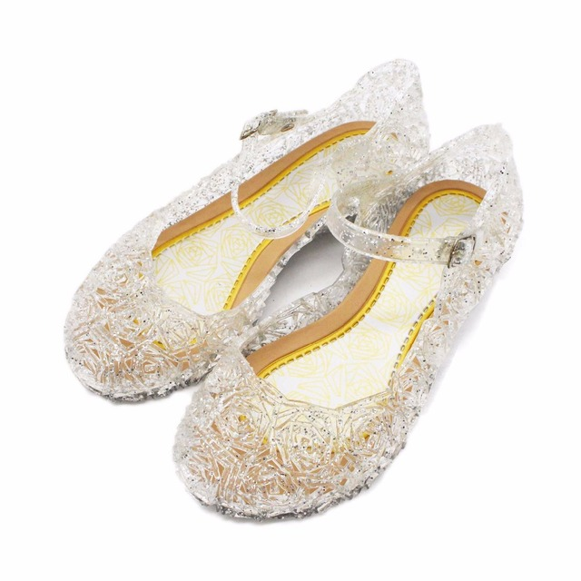 Mini Melissa Summer Girls Sandals Mini Melissa Girls Jelly Shoes Kids  Slipsole Wedge Heel Children Sandals Princess Kids Shoes 1fa5f7b392b6