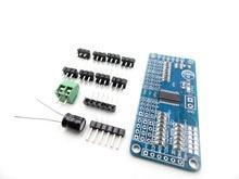16 Channel 12-bit PWM/Servo Driver-I2C interface PCA9685 for arduino or Raspberry pi shield module servo shield
