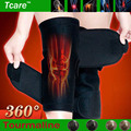 *Tcare 1Pair Tourmaline selfheating kneepad Leggings brace Band Magnetic Therapy knee Massager support Belt Leg Health Care Tool