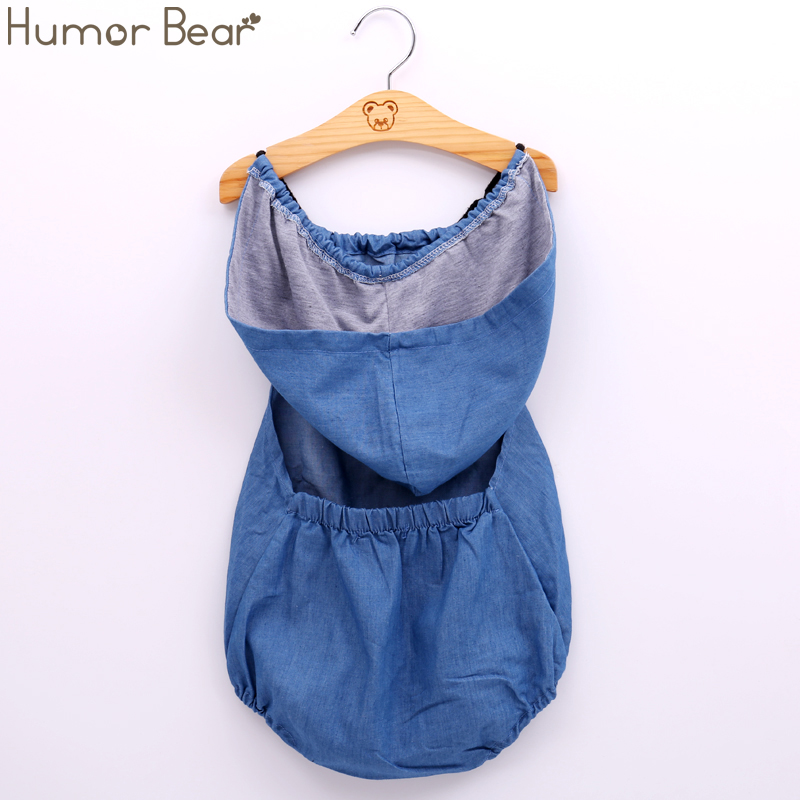 Humor Bear Baby Girls Clothing Fashion Baby Casual Cowboy Baby Boy Girl Rompers Baby Clothing Girls Birthday Party Jumpsuits baby rompers clothing 2017 fashion